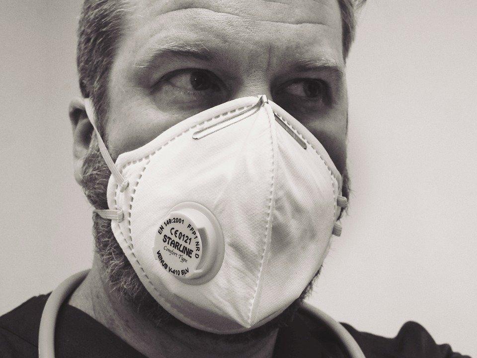 De mondkapjes voor op de werkvloer